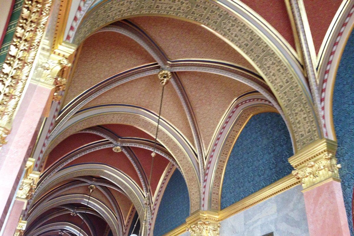 Deckengewölbe im Parlament