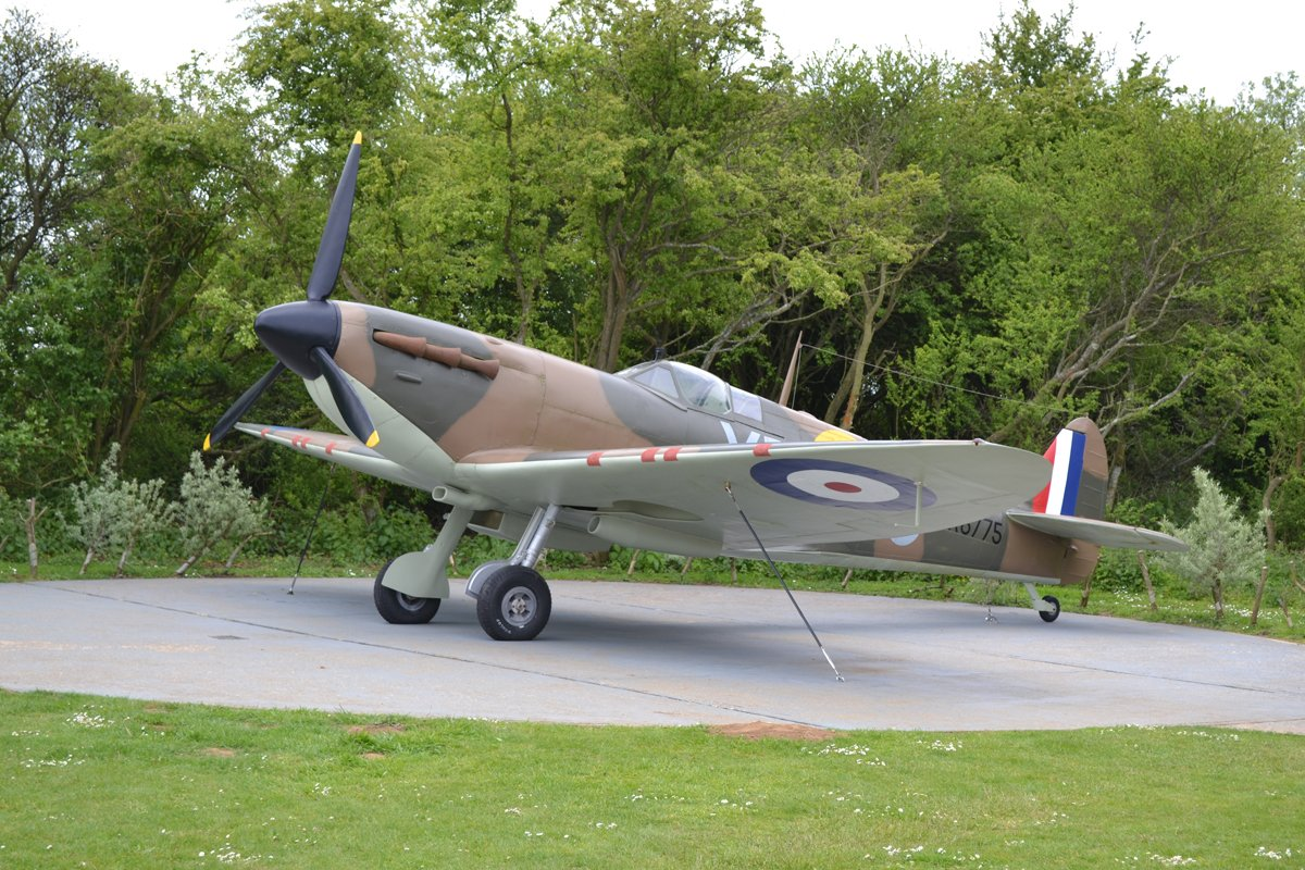 "Die berühmte ""Spitfire"""
