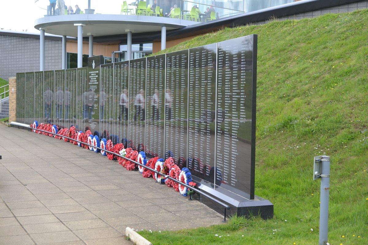 """In Gedenken der bei der """"Battle of Britain"""" gefallenen englischen Soldaten"""