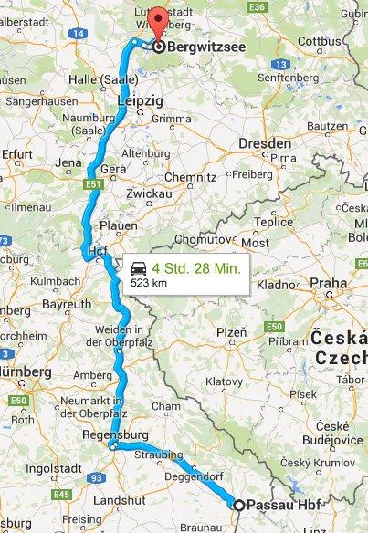 Passau - Kemberg bei Wittenberg