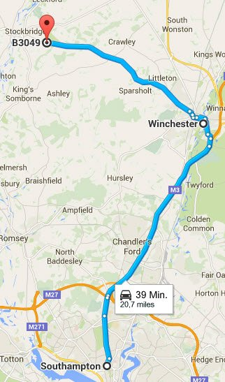 Southampton - Winchester - Stockbridge