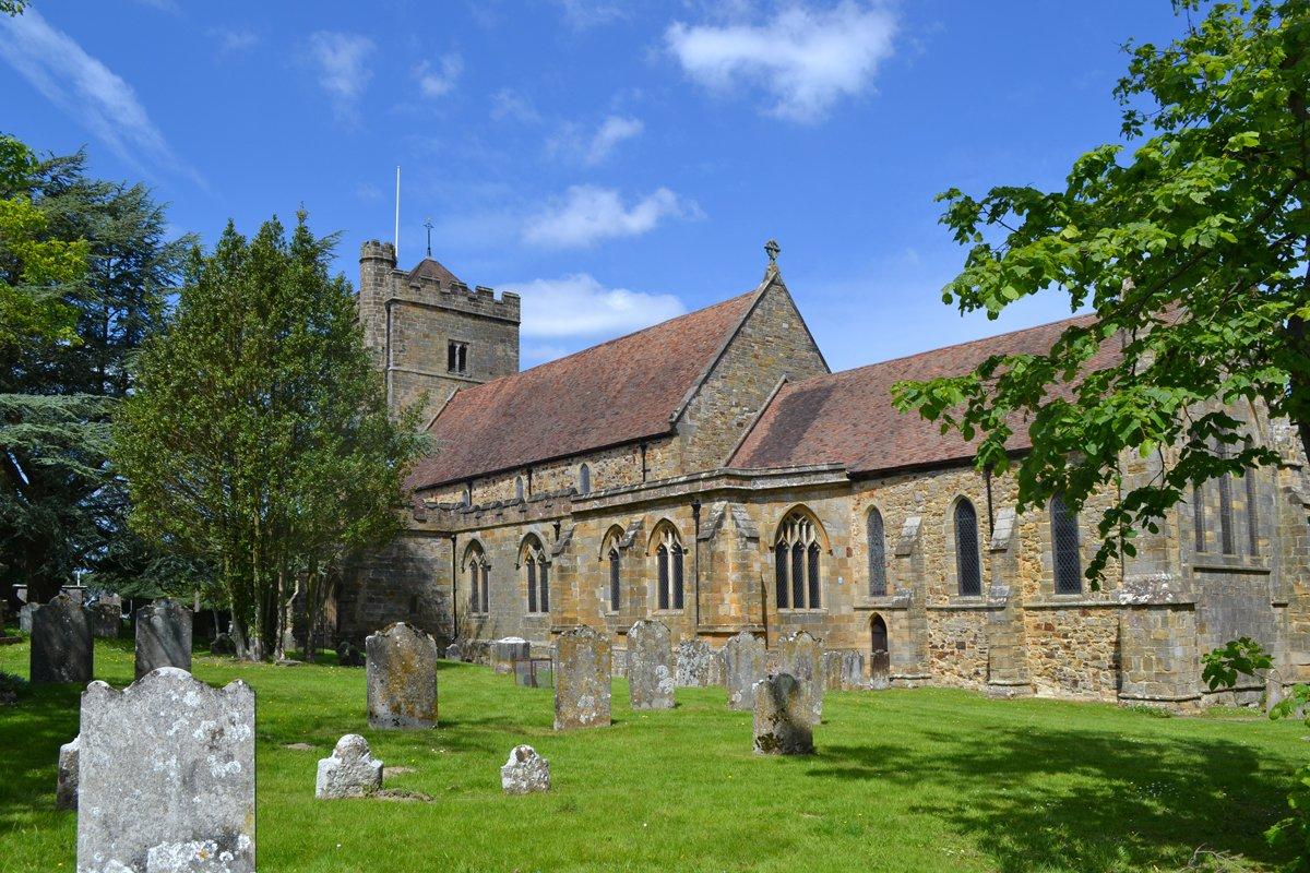 St Marys Church in Battle