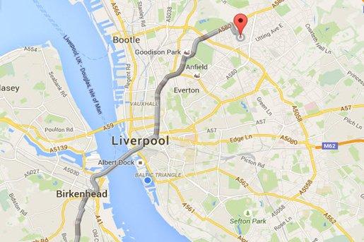 Birkenhead - Liverpool