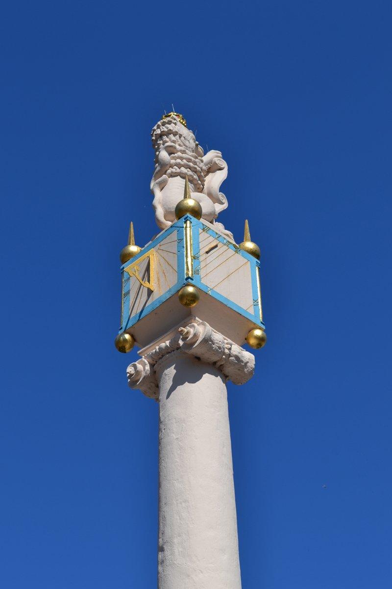 Carlisle Kreuz von 1682 auf dem Marktplatz