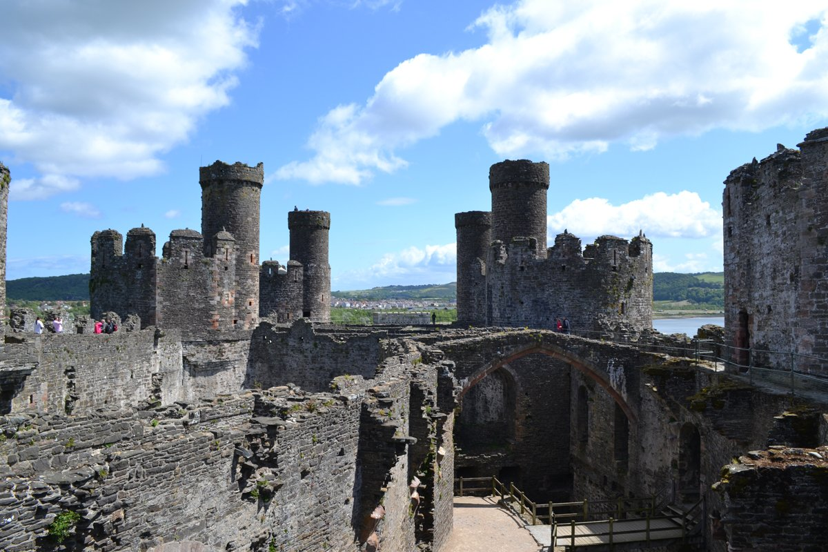 Conwy Castle im Inneren