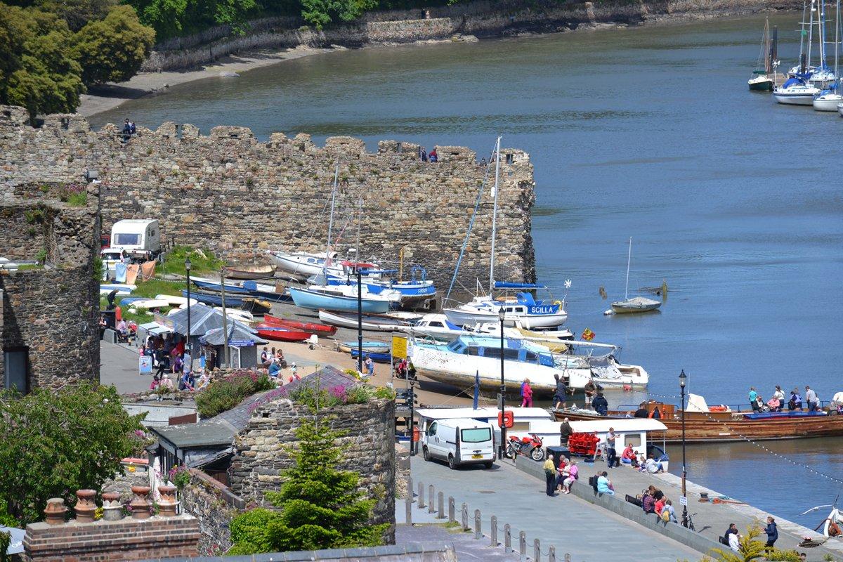 Conwy Hafen