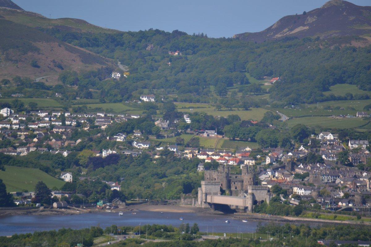 Conwy und Conwy Castle
