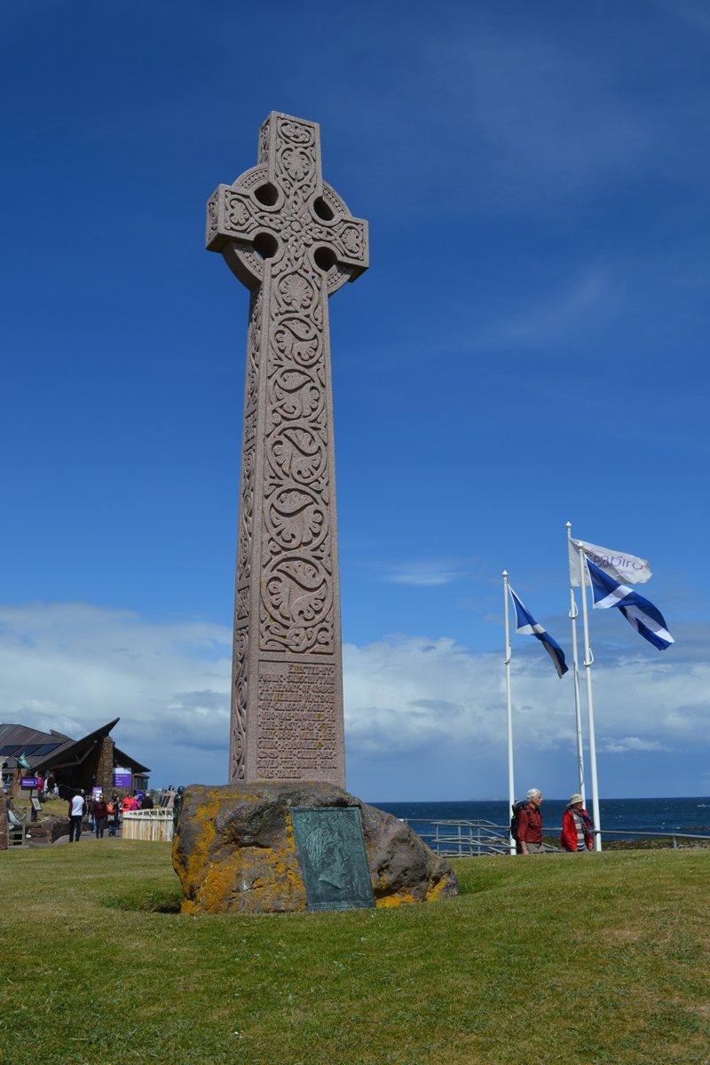 Keltisches Kreuz im Hafen