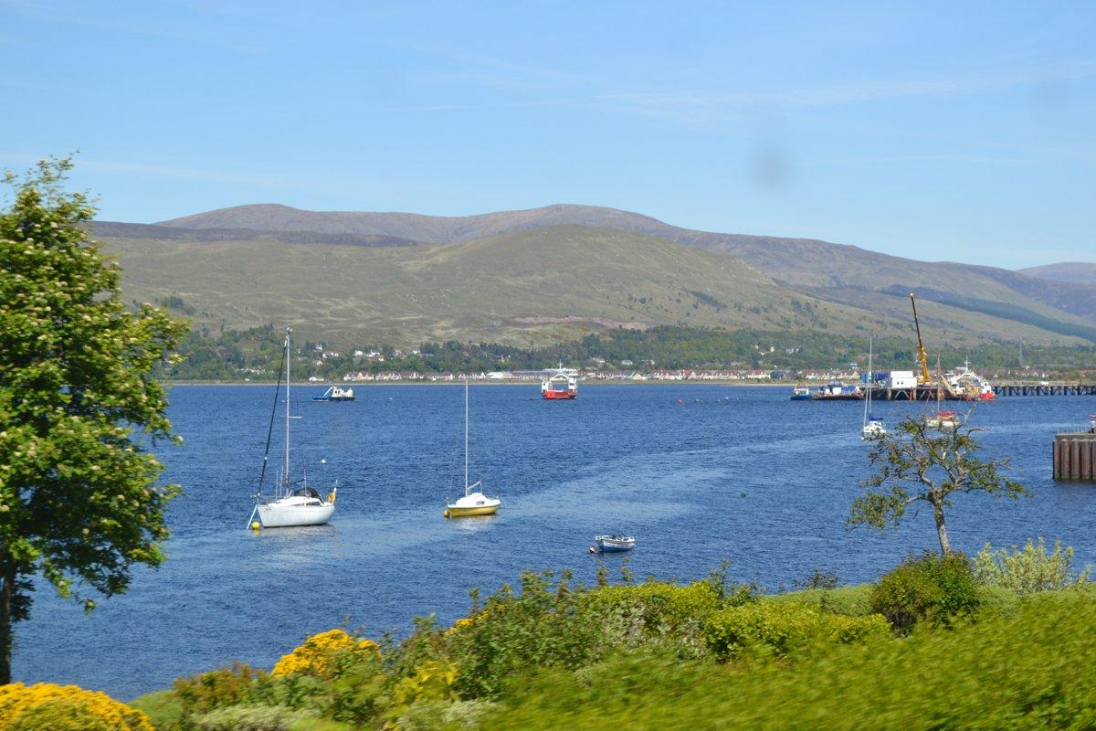 Loch Linnhe bei Fort Williams