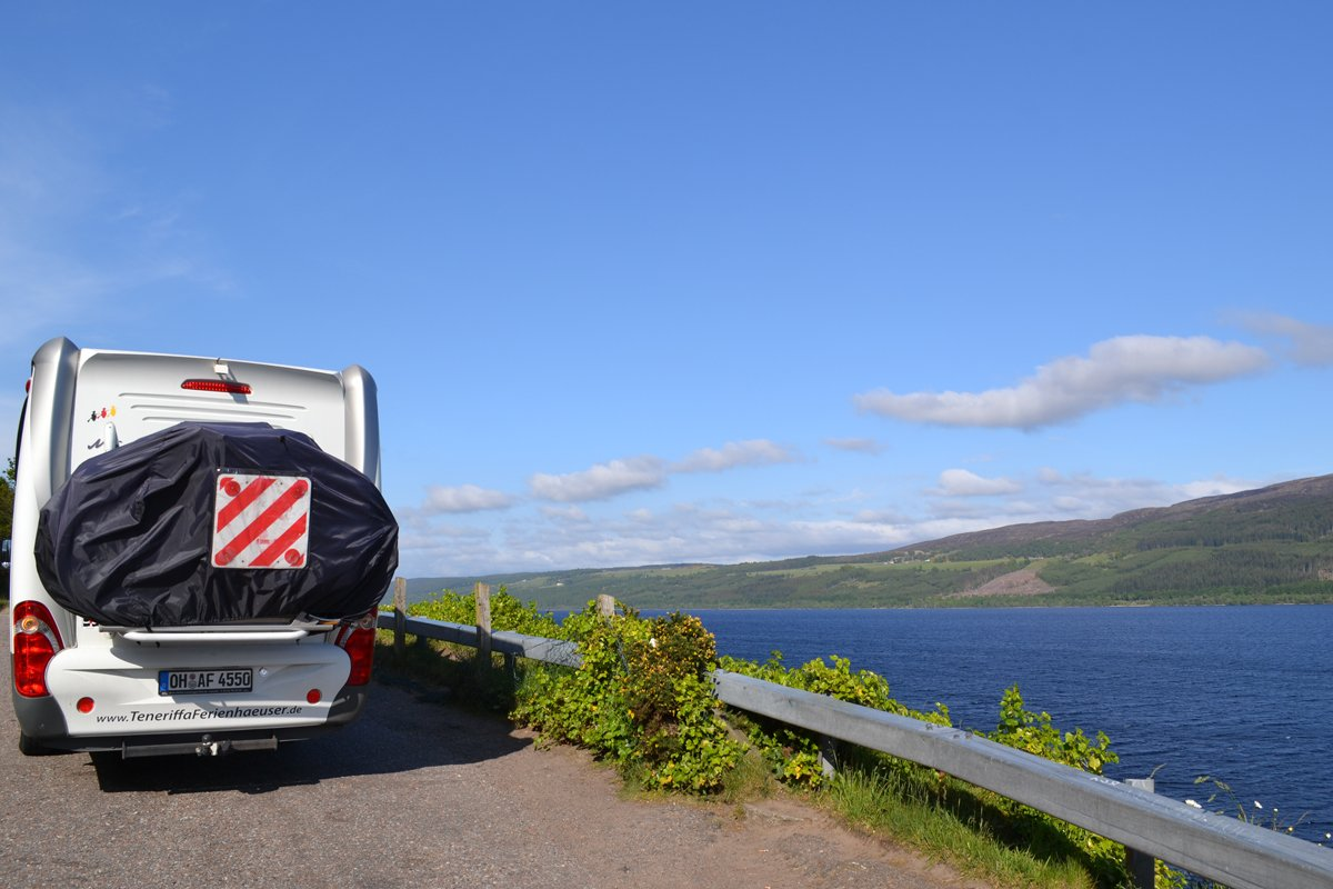 Mit dem Wohnmobil am Loch Ness