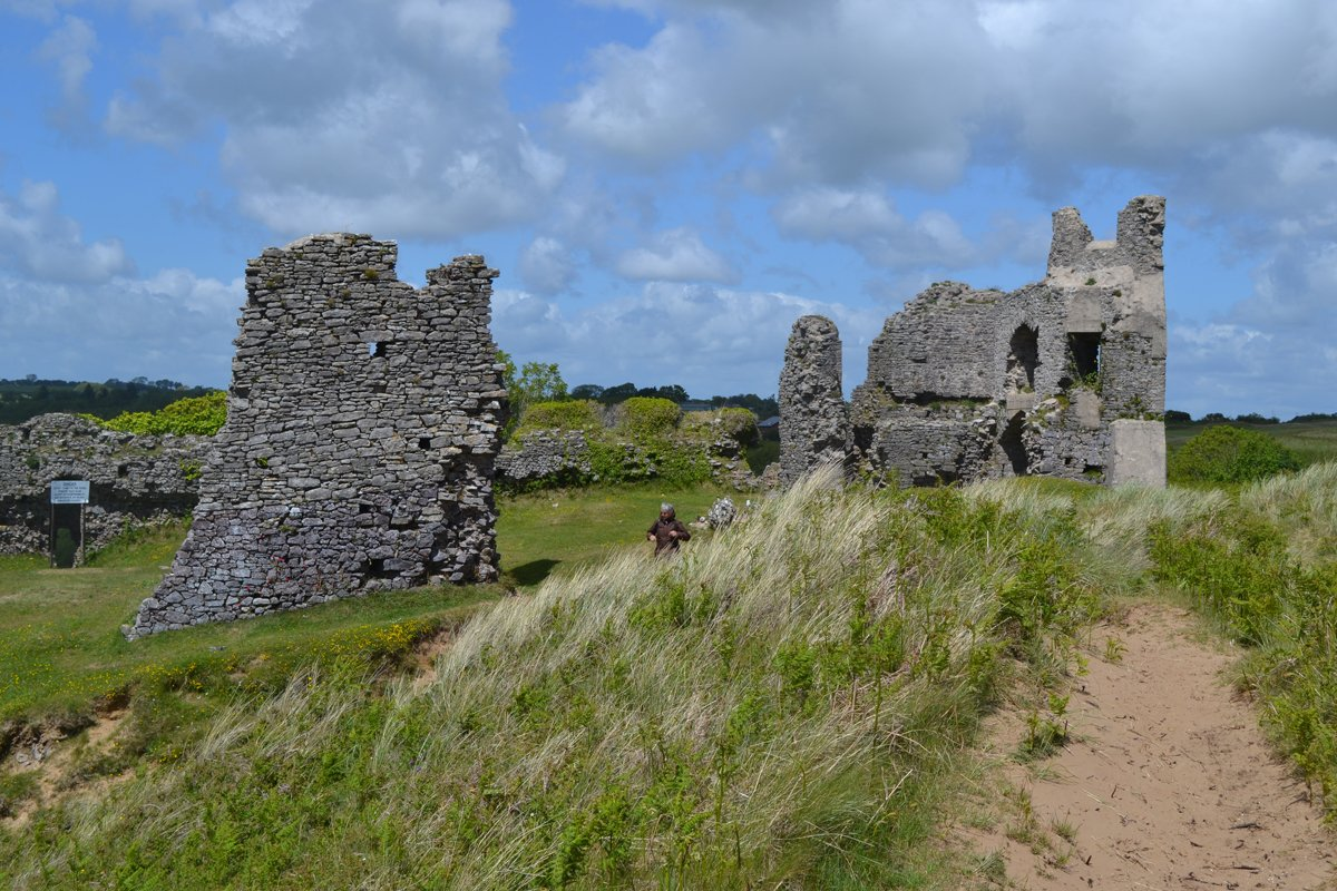 Pennard Castle Ruine