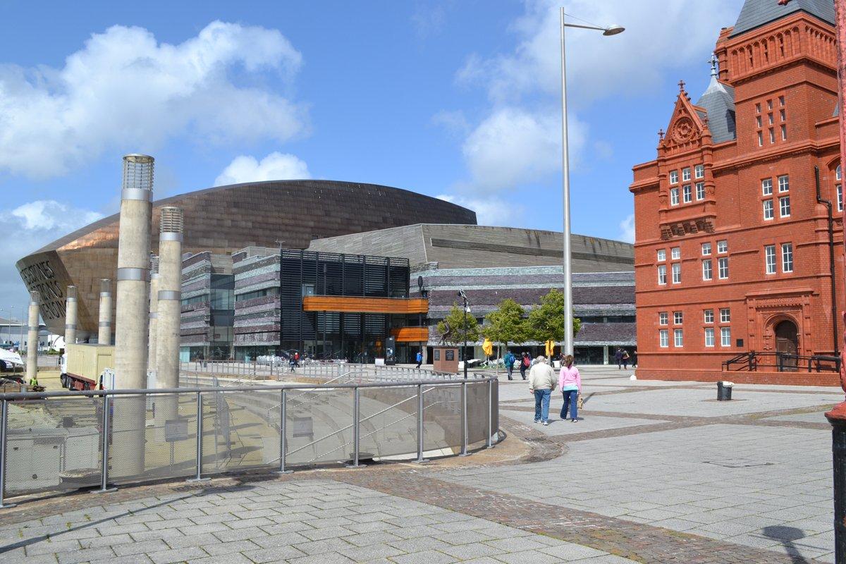 Pier Head und Konzerthalle