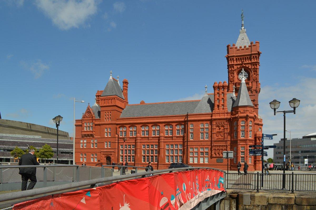 Das schöne Pier Head Gebäude