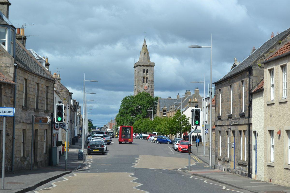 St Andrews Straßenbild