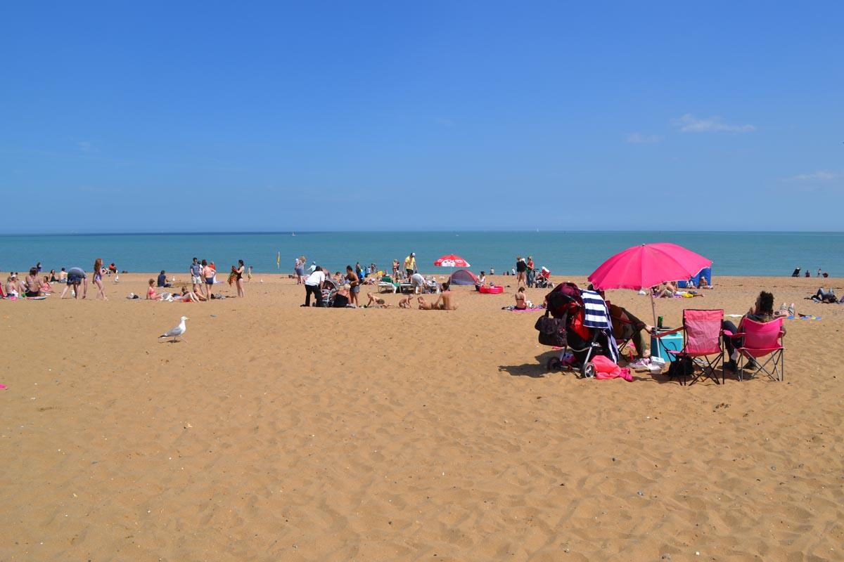 Der Strand von Ramsgate