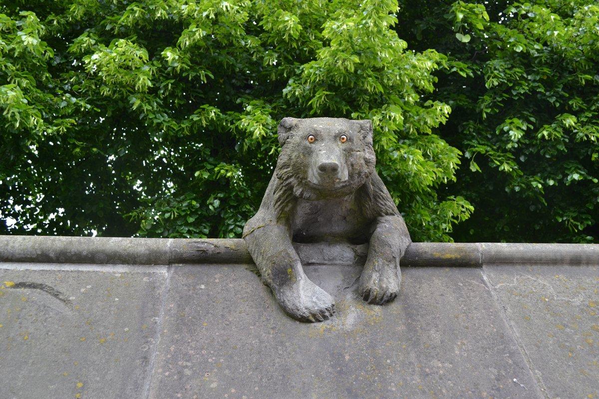 Die Tiermauer in Cardiff