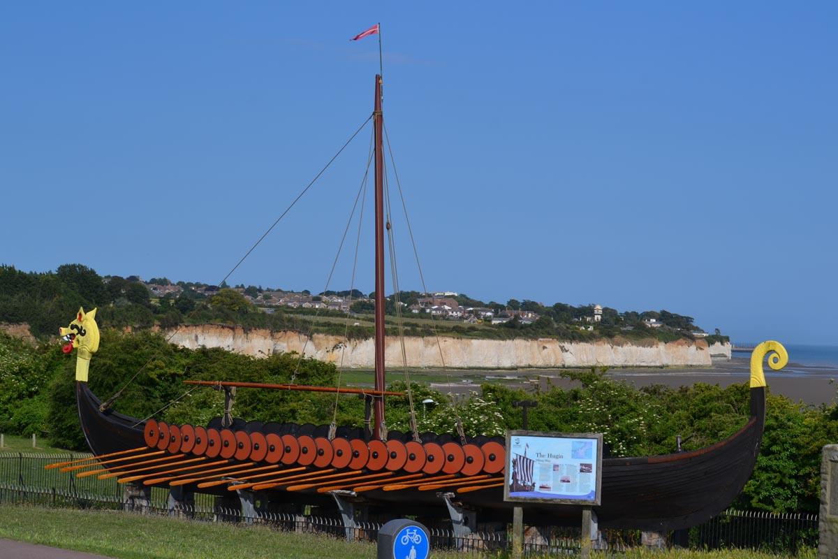 Vikingerschiff Nachbau von 1949