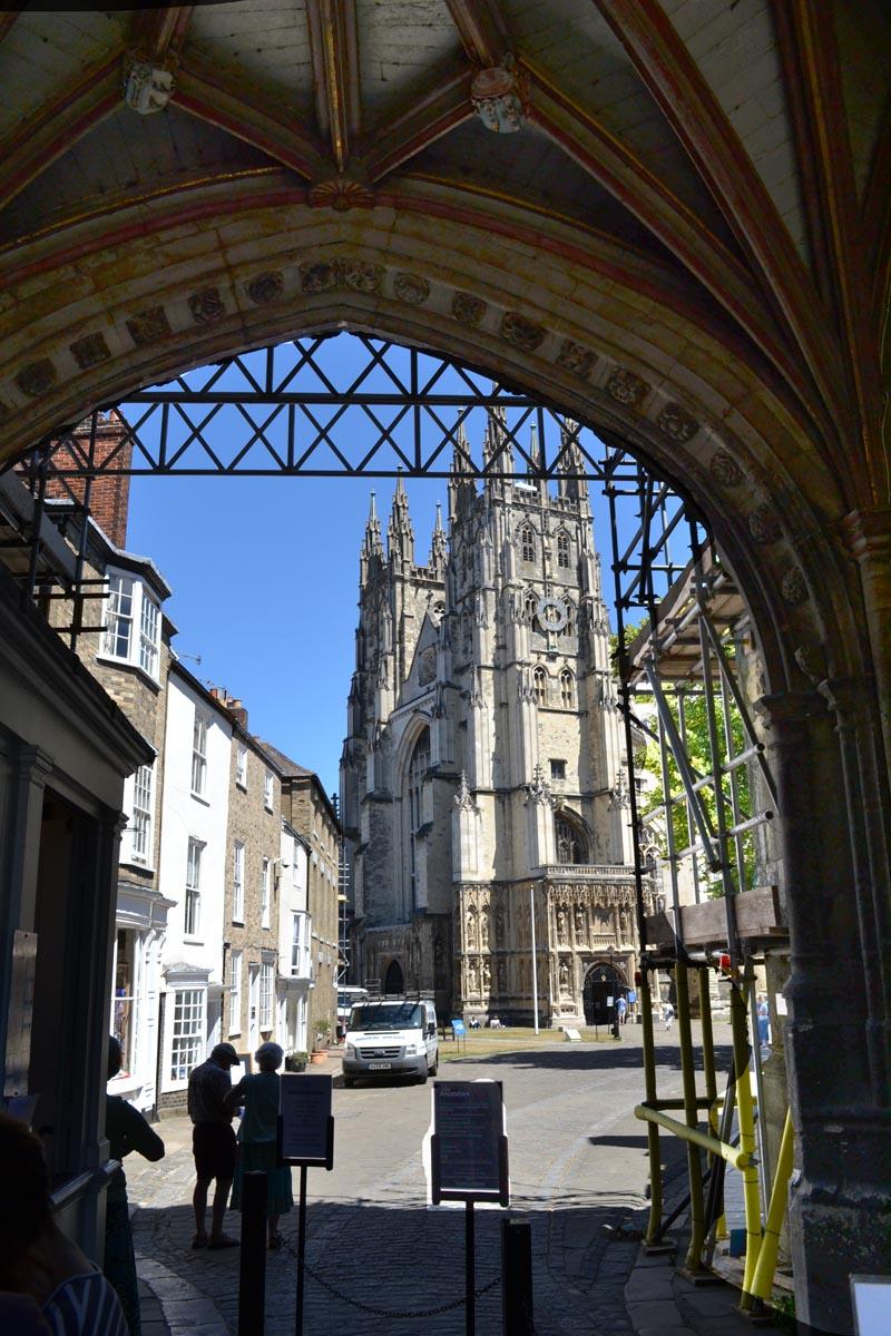 Der erste Blick auf die Kathedrale