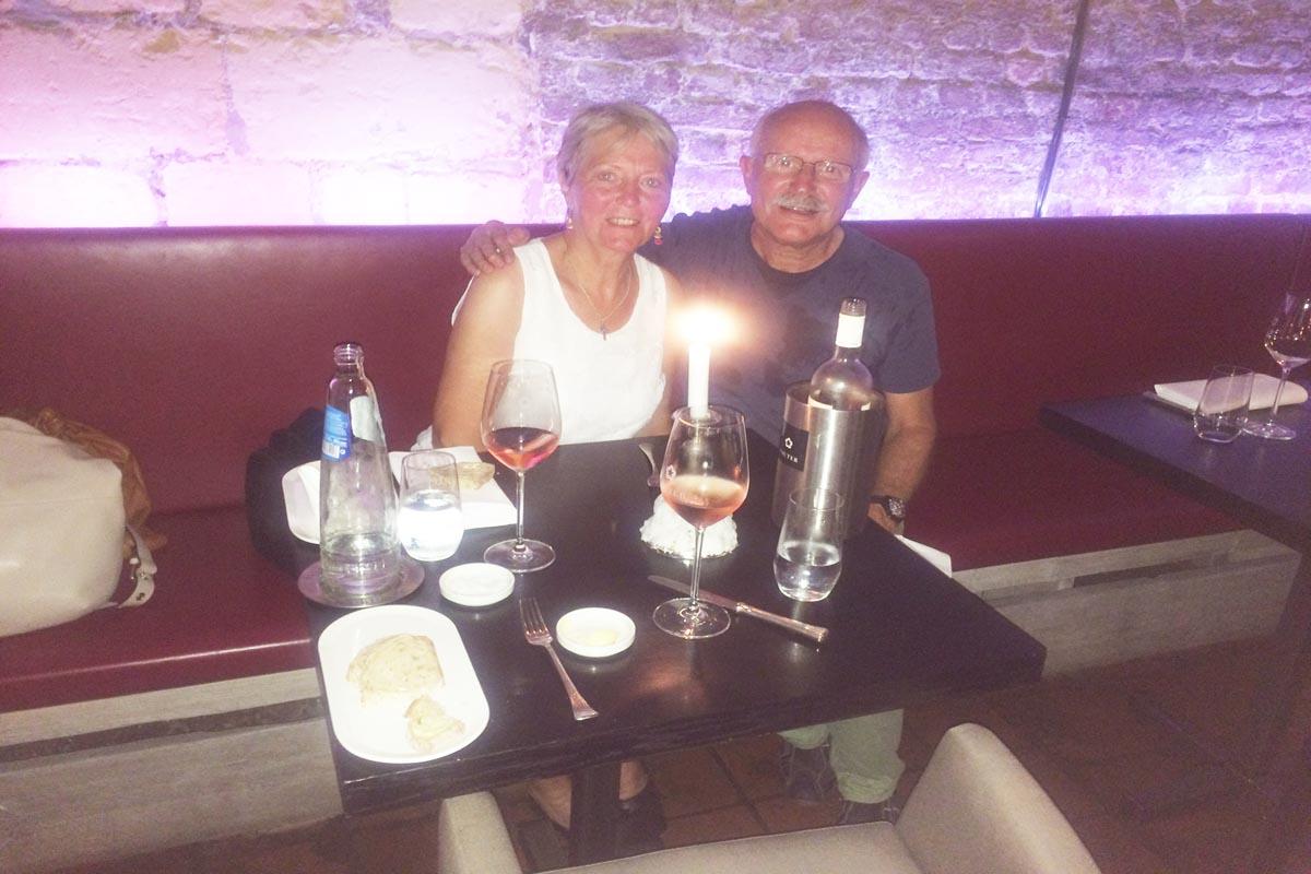 Im Restaurant Bon Vivant