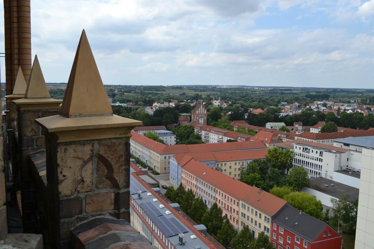 Panorama vom Kirchenturm