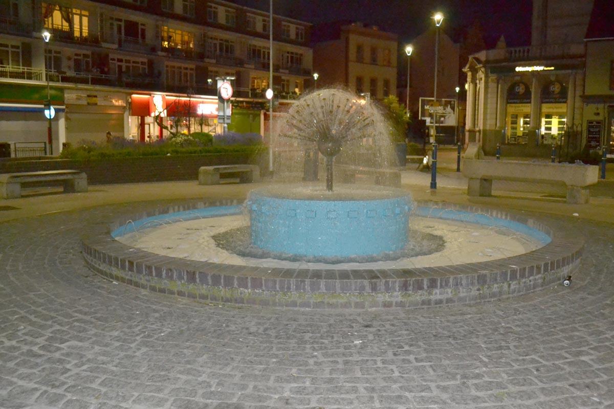 Springbrunnen in Dover