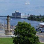 Stettin Oder Panorama