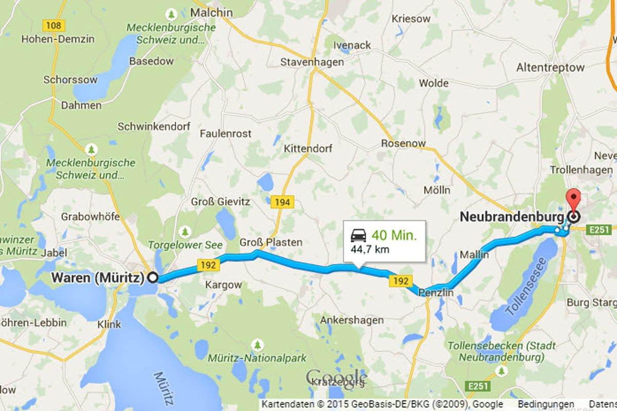 Waren - Neubrandenburg