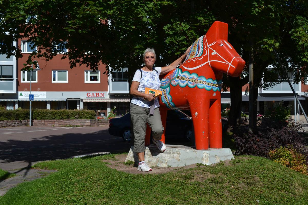 Dala-Pferd in Mora
