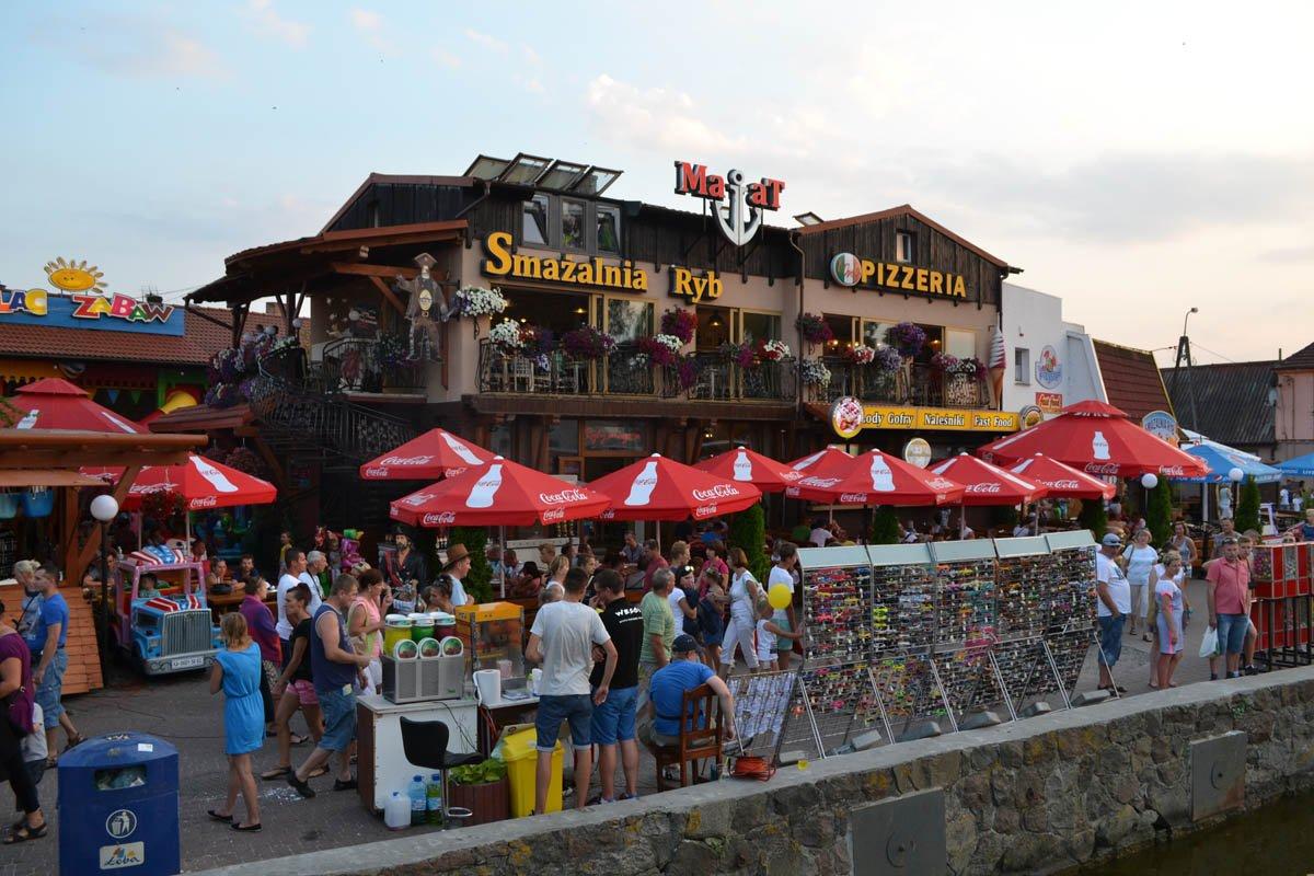 Fischrestaurant am Hafen