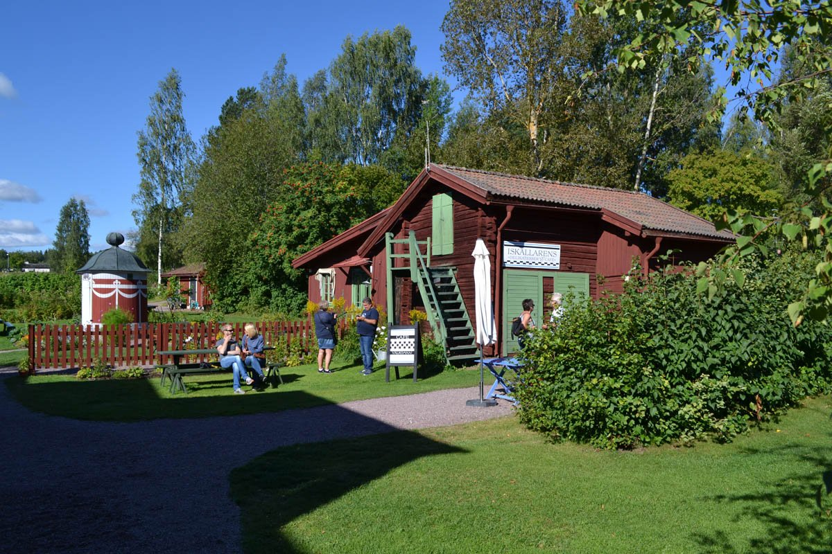 Garten von Lilla Hyttnäs
