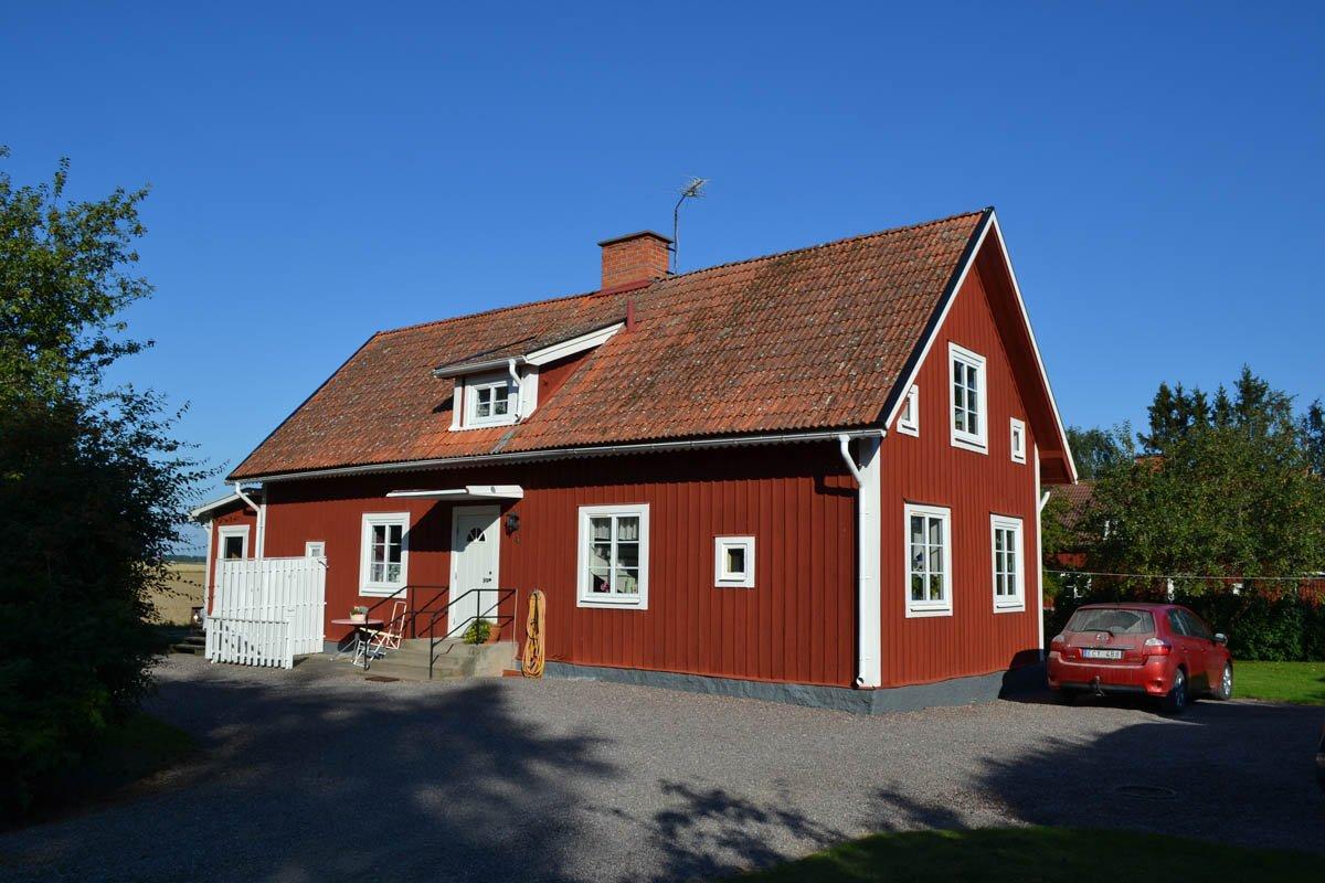 Hier wohnen Anne und Anders