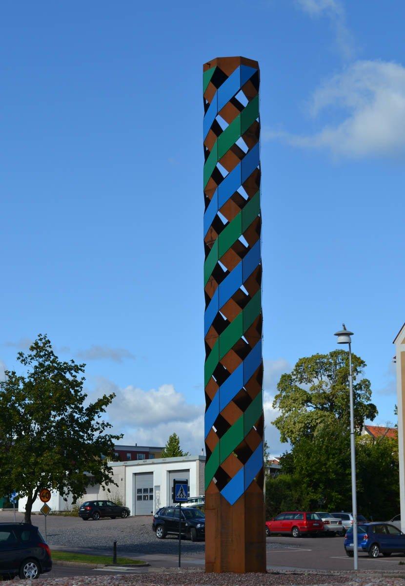 Kreisverkehr-Gestaltung in Falun