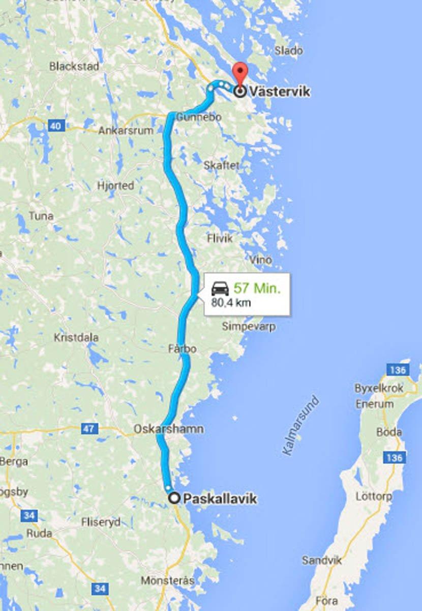 Påskallavik - Västervik