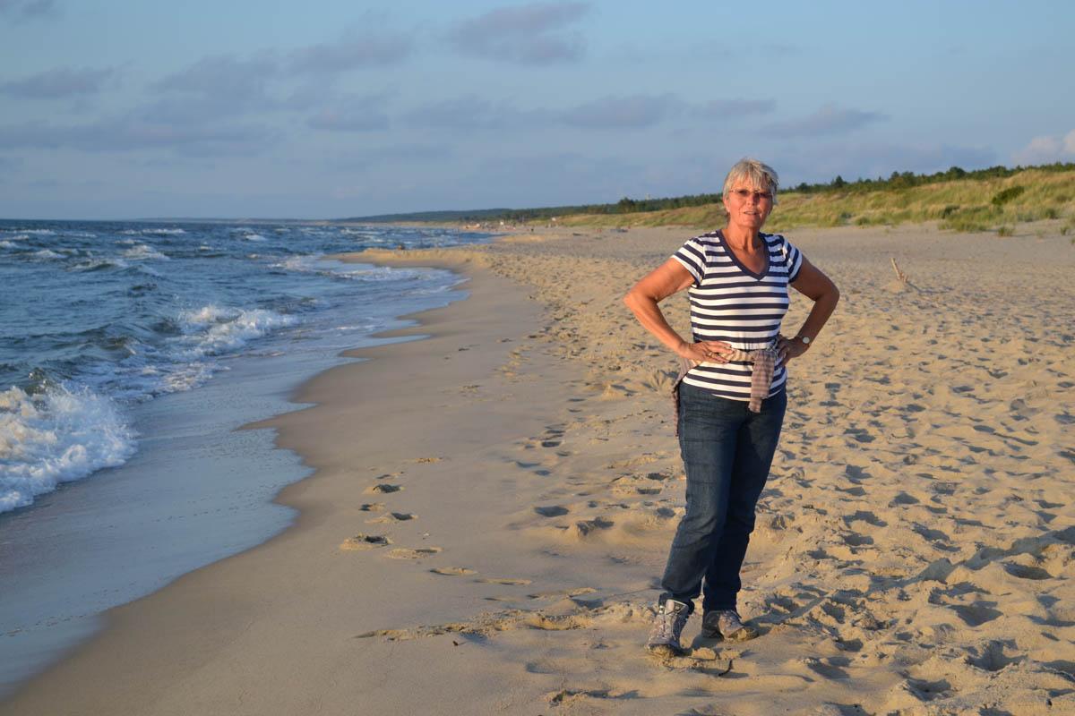 Piaska Strand - Russland ist nicht mehr weit entfernt