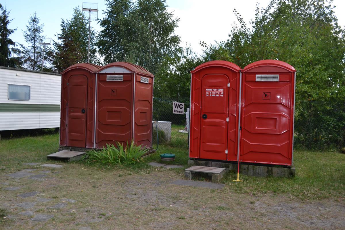 Piaski Campingplatz Duschen