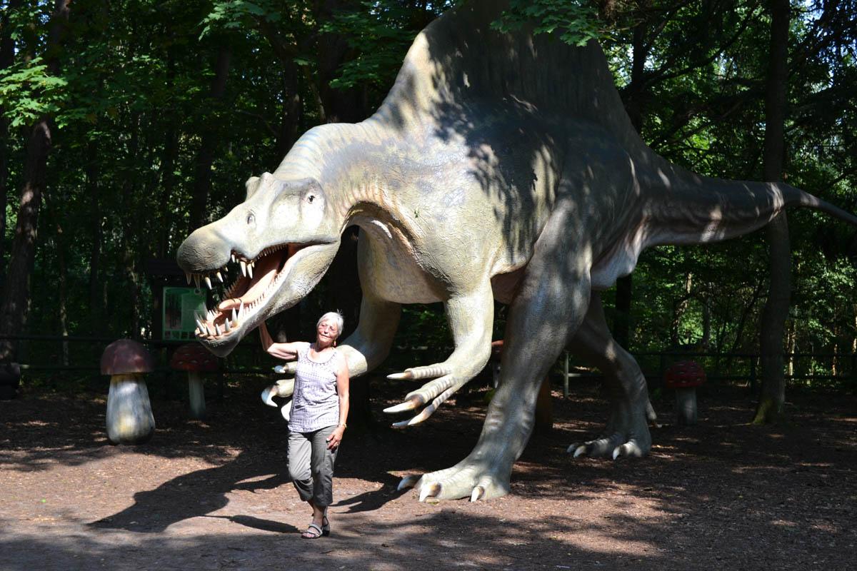 Spinosaurus - bis zu 15 m