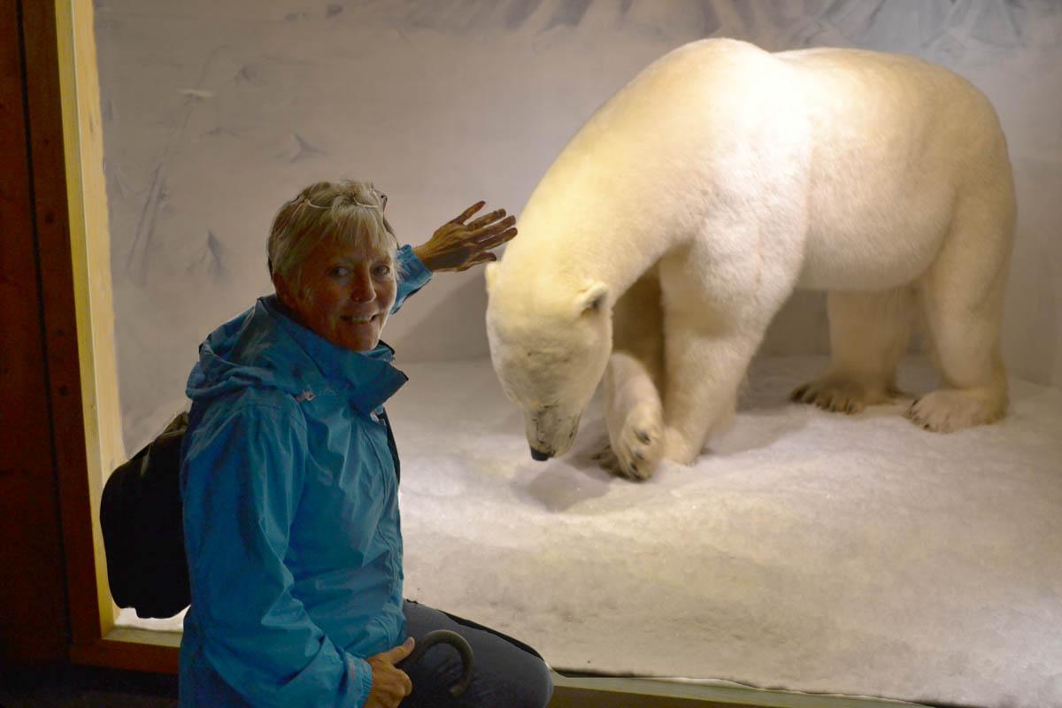 Anne mit Eisbär