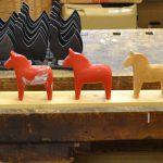 Dala-Pferdherstellung