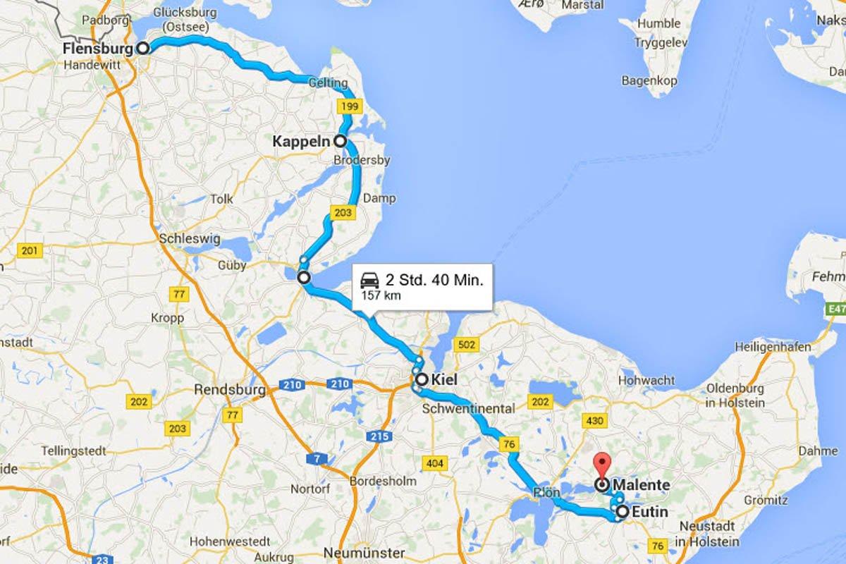 Flensburg - Malente