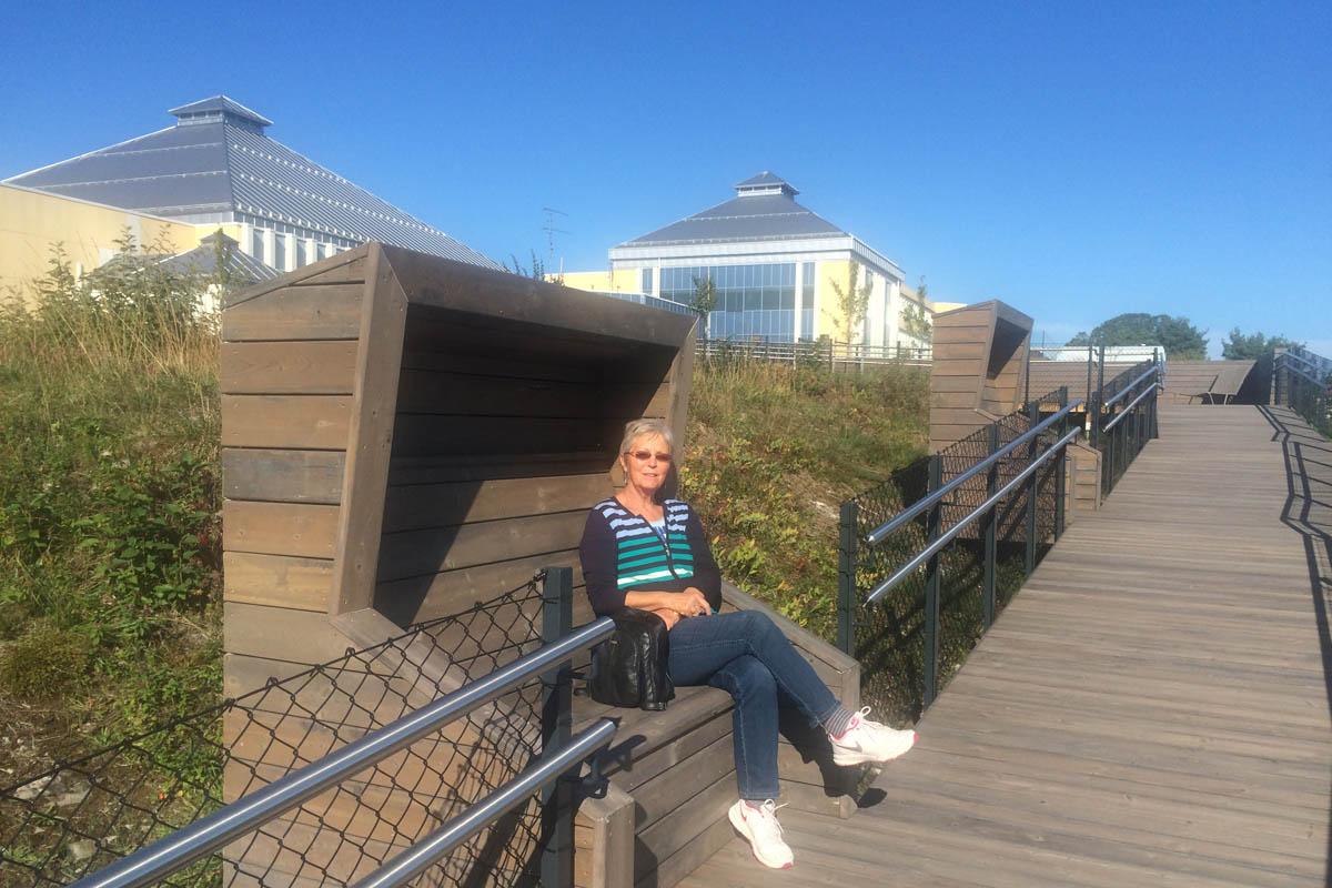 Auf der Anlage des Skærgården Hotels