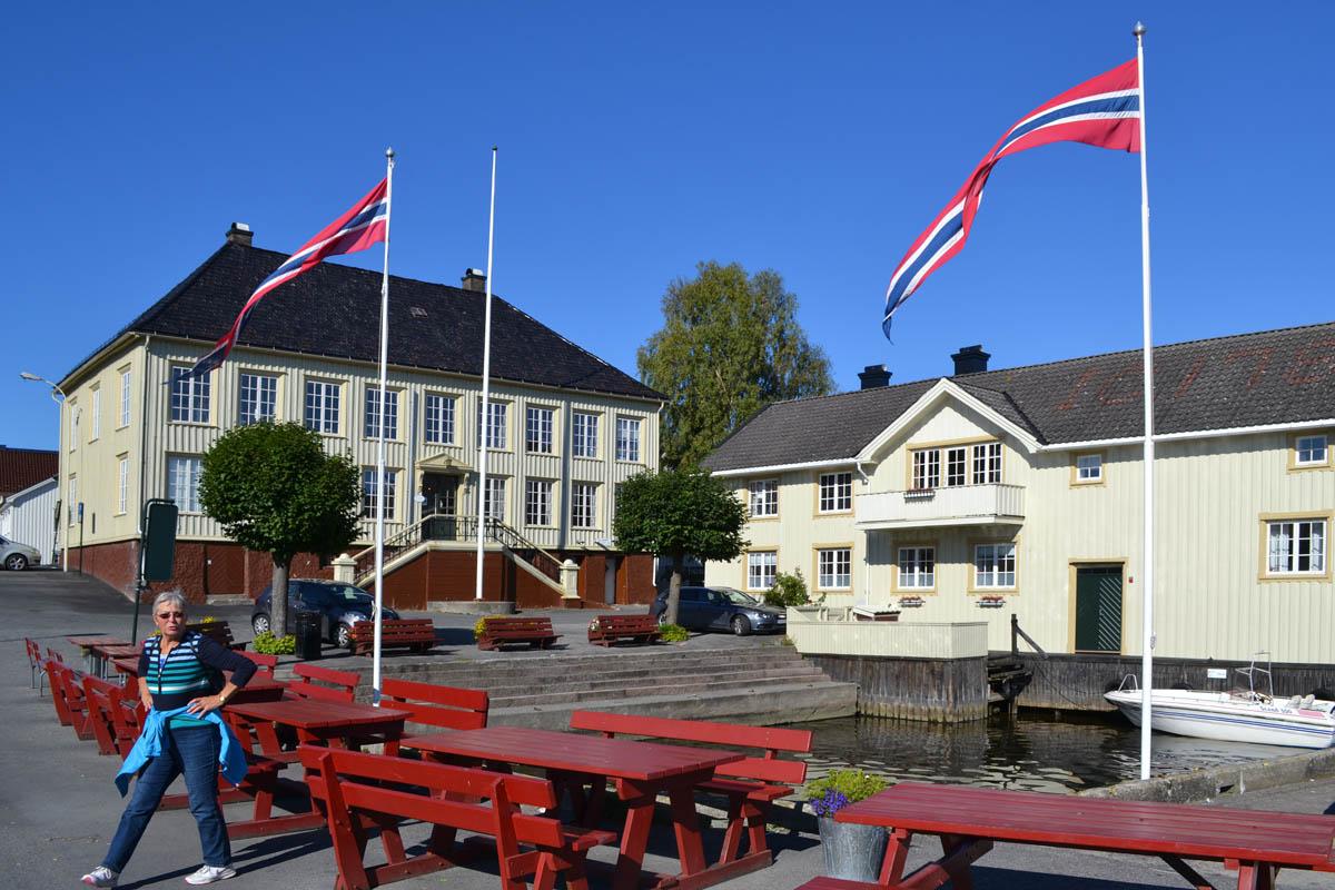 Langesund Zentrum