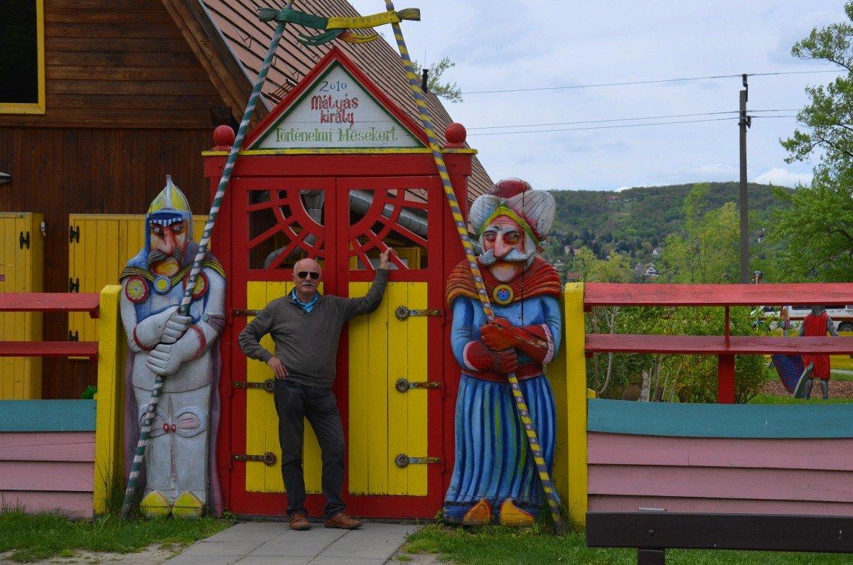 Eingang zum Abenteuerspielplatz
