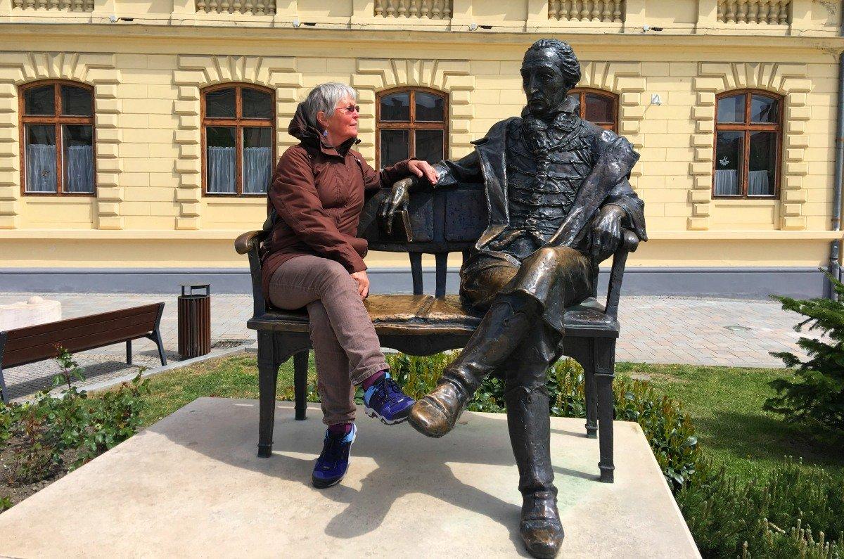 Anne mit Graf Georg Festetics