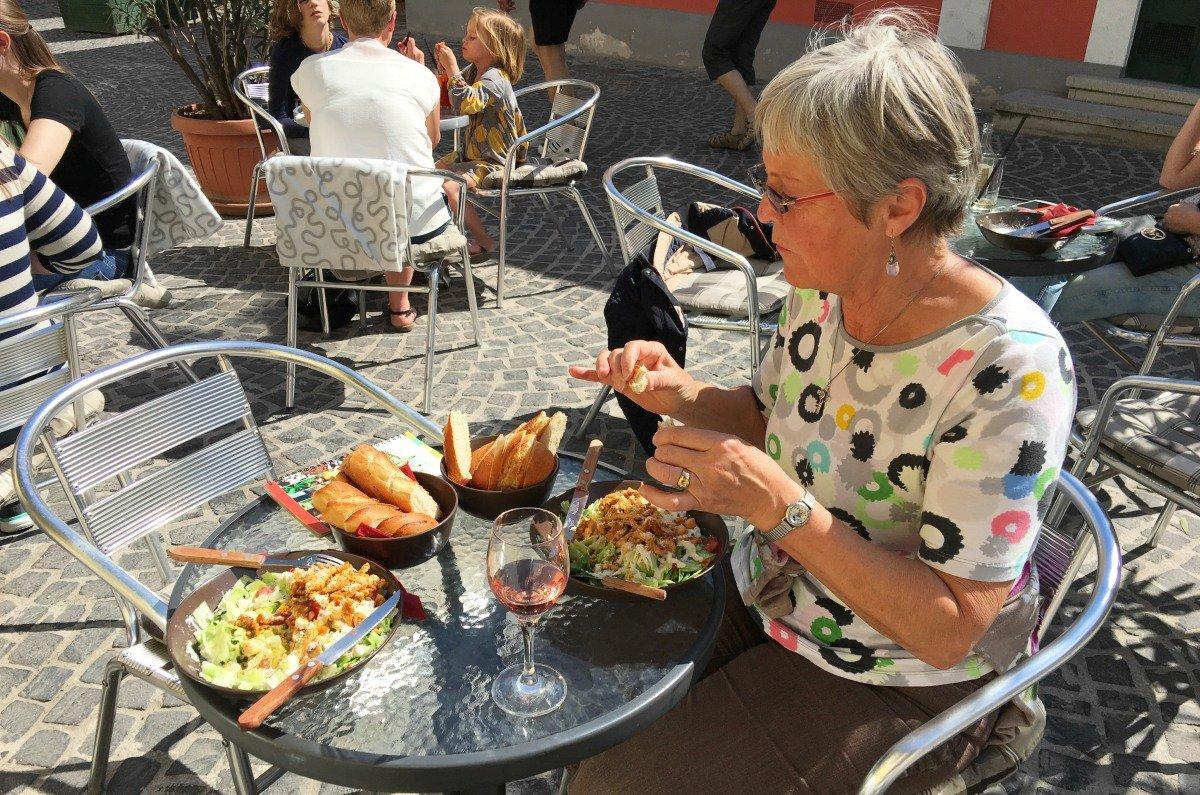 Mittagessen in Szentendre