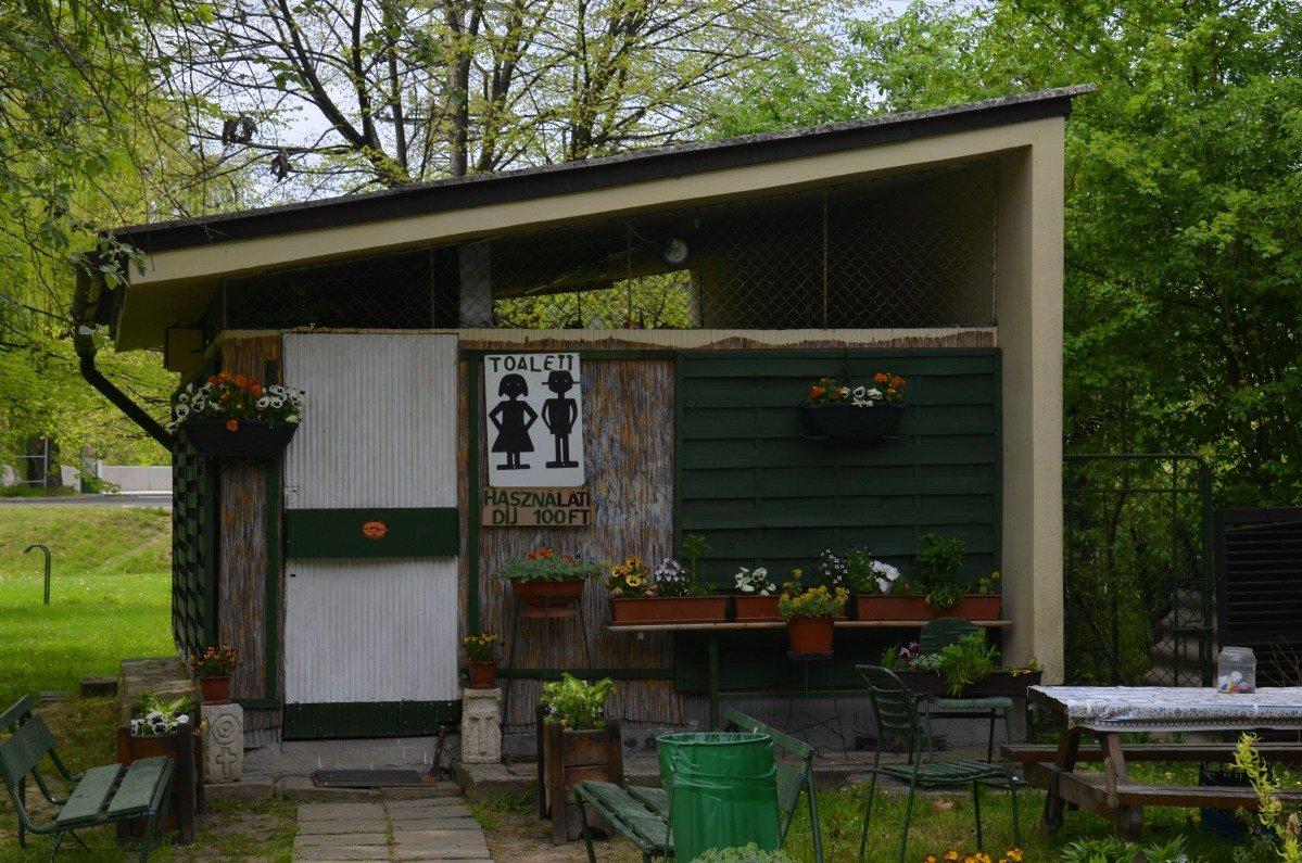 Öffentliche Toilette in Visegrád