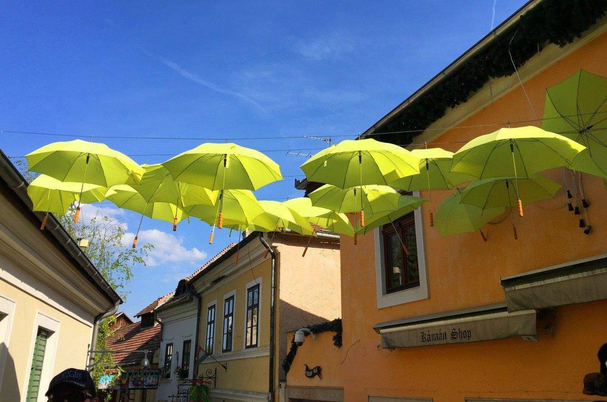 Originelle Dekoration in Szentendre