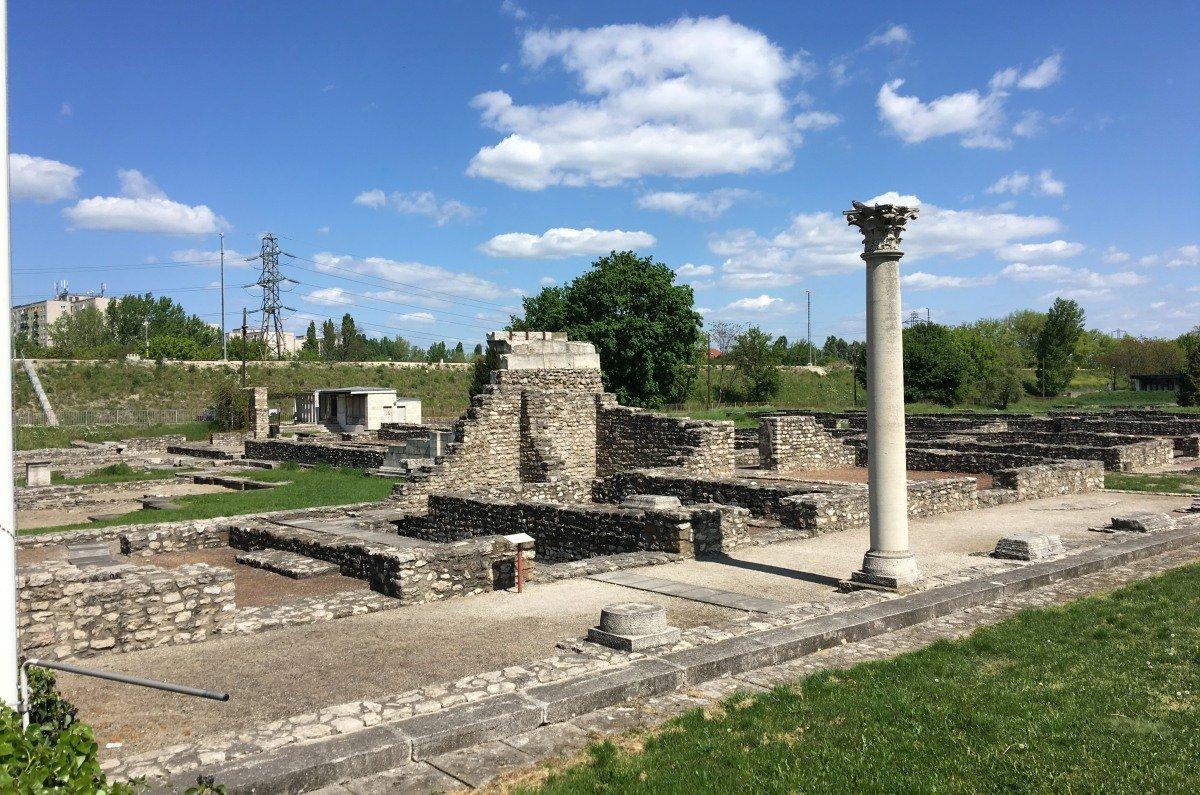 Römische Ruinen in Aquincum