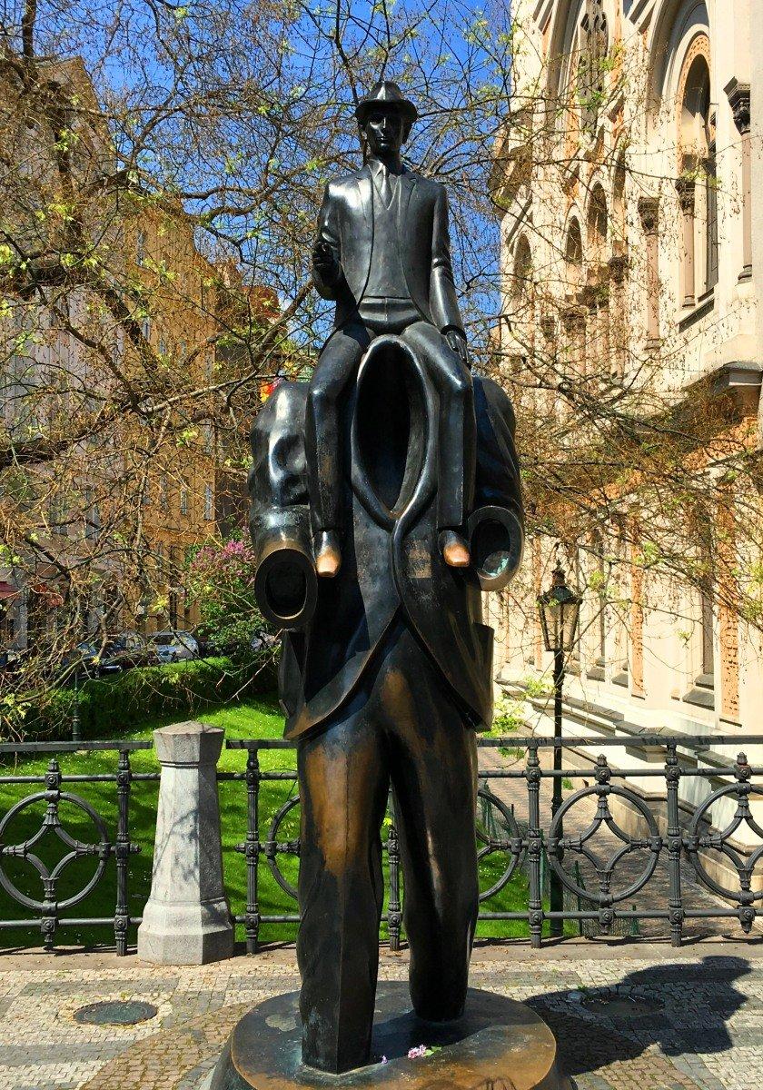 Kafka-Skulptur
