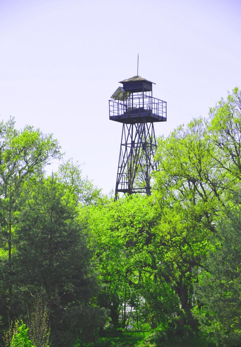 Originalwachtturm aus kommunistischer Zeit