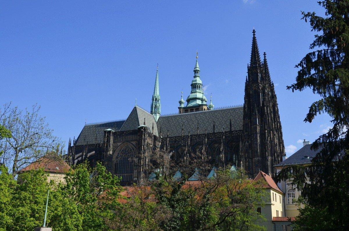 St. Veit Dom auf der Burg